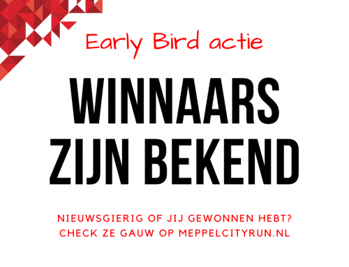 Winnaars Early Bird