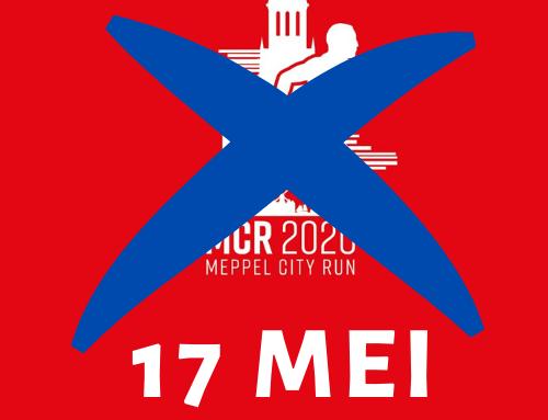 Het coronavirus treft ook de Meppel City Run